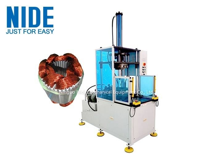 Induction Motor Stator Winding Coil Forming Machine with hydraulic system , Middle size