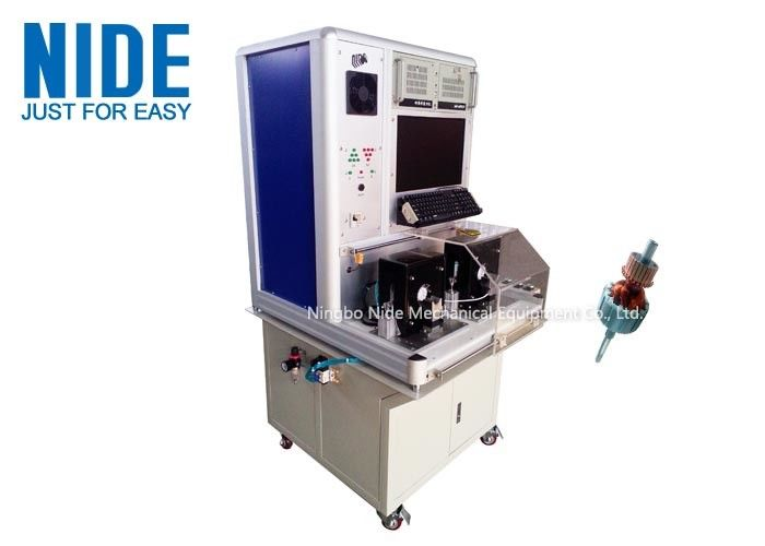 Motor Testing Equipment , Miniature Automatic armature rotor surge testing panel machine