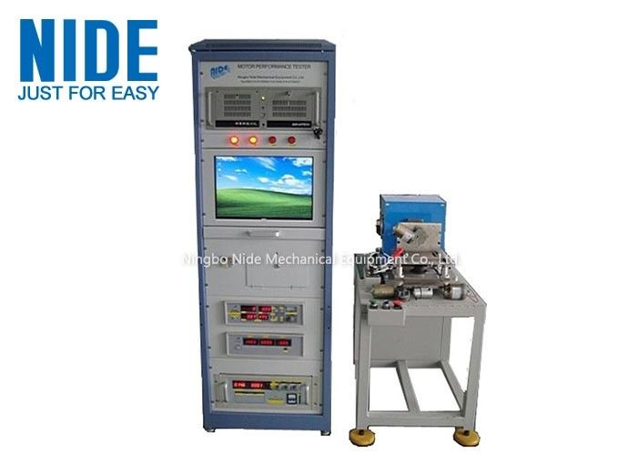 19'' LCD Single or 3 phase Motor Testing Panel Equipment For AC and DC motor