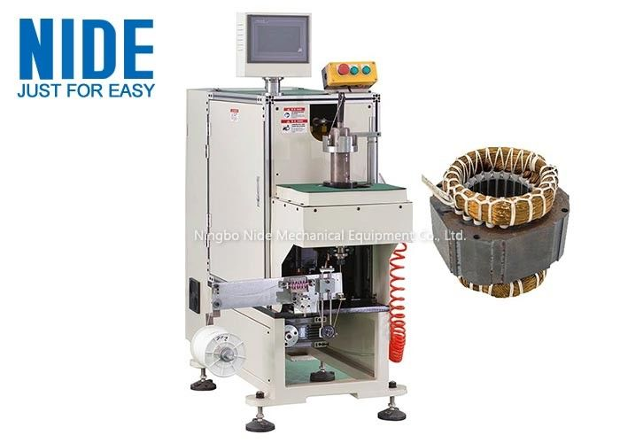 Single side Inuction Motor Stator Winding Lacing Machine / Lacing speed 0.7S/slot
