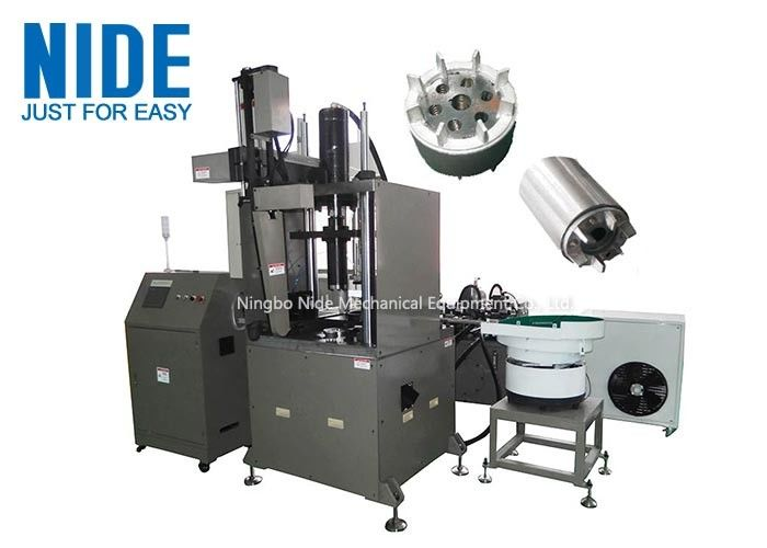 Easy Aluminum Rotor Casting Machine Auto Releasing Agent Spraying System , Armature OD 40mm - 80mm