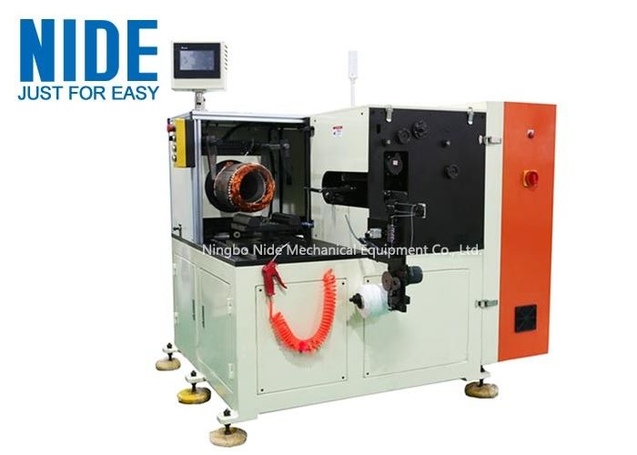 Horizontal Single Side Stator Lacing Machine For Industrial Big Electric Motor Coil Lacer