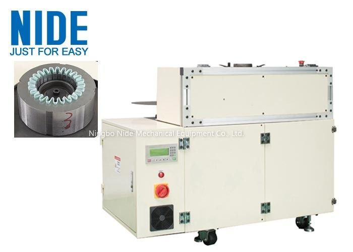 Stator Slot Insulation Paper Insertion Machine For Induction Motor Single Working Station